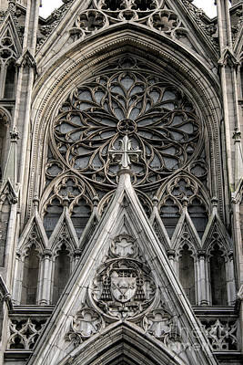 Saint Patrick's Cathedral Art Print