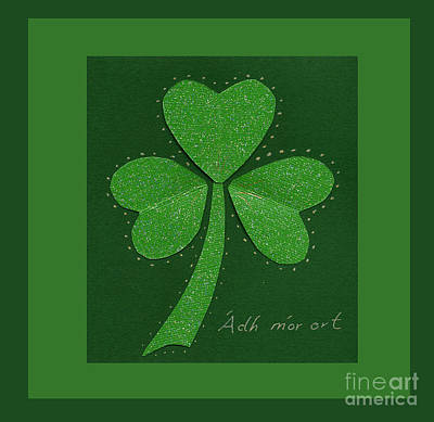 Mixed Media - Saint Patricks Day Collage Number 13 by Ellen Miffitt
