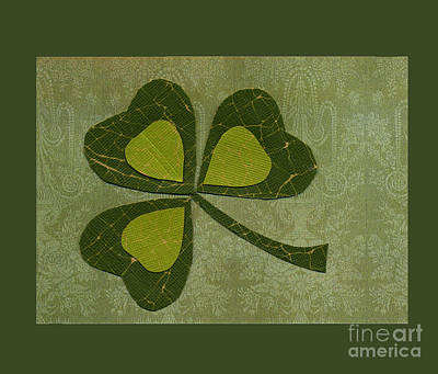 Red Roses - Saint Patricks Day Collage number 29 by Ellen Miffitt