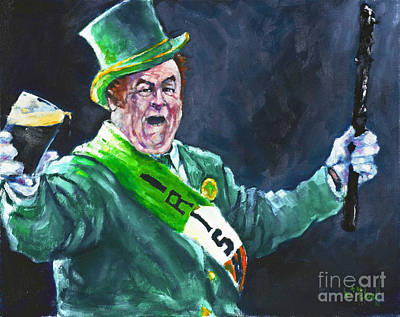 Painting - Saint Pat's Parade by Kevin McKrell