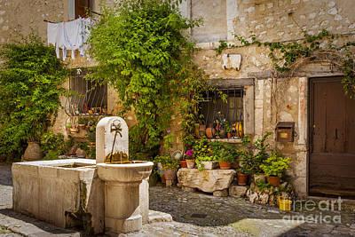 Photograph - Saint Paul De Vence by Brian Jannsen