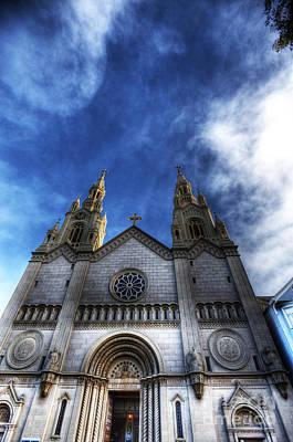 Joe Dimaggio Photograph - Saint Peter And Saint Paul Church by David Bearden