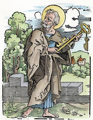 Saint Peter (c Art Print by Granger