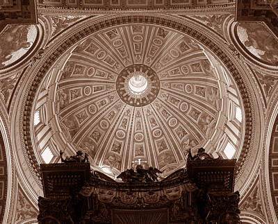 Photograph - Saint Peter Dome by Michael Kirk