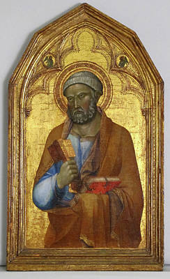 Siena Italy Painting - Saint Peter by Follower of Lippo Memmi
