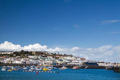 Saint Peter Port Marina Guernsey Art Print by Chris Smith