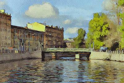Saint Petersburg 3 Art Print