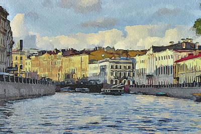 Progress Digital Art - Saint Petersburg 6 by Yury Malkov