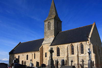 Photograph - Saint Pierre Church- Normandy- France by Aidan Moran