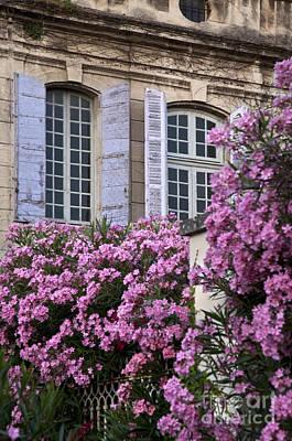Photograph - Saint Remy Windows by Brian Jannsen
