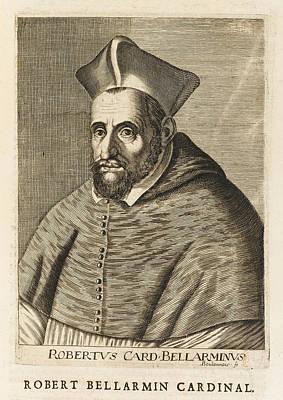 Saint Roberto Bellarmino  Italian Art Print