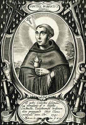 Saint Roberto Di Salentino  Italian Art Print