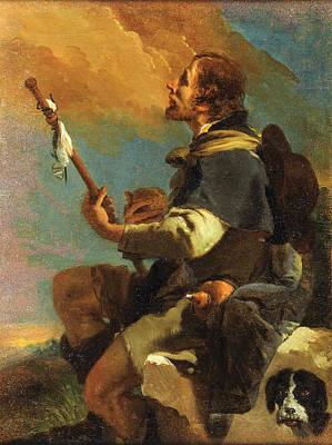 Giovanni Battista Tiepolo Painting - Saint Roch by Giovanni Battista Tiepolo