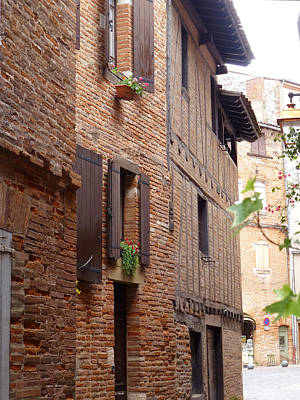 Photograph - Saint-salvi Backstreet In Albi France by Susan Alvaro