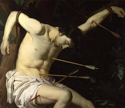 Saint Sebastian Painting - Saint Sebastian by Gerrit van Honthorst