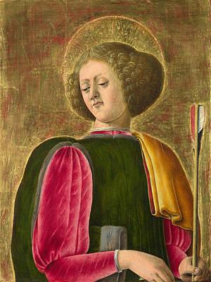 Saint Sebastian Painting - Saint Sebastian by Giorgio Schiavone