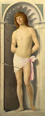 Saint Sebastian Painting - Saint Sebastian by Giovanni Battista Cima