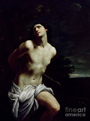 Saint Sebastian Print by Guido Reni