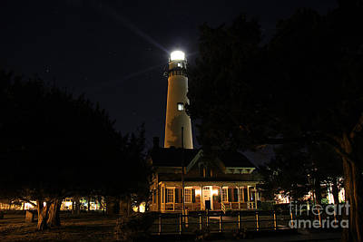 Saint Simons Lighthouse Art Print