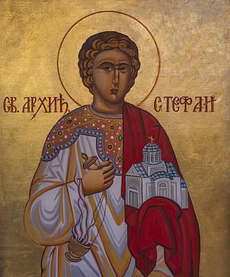 Saint Stephen Original by Aleksandar Tesanovic
