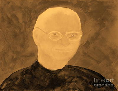 Saint Steven Paul Jobs 1 Original by Richard W Linford