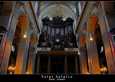 Photograph - Saint Sulpice by Dany Lison