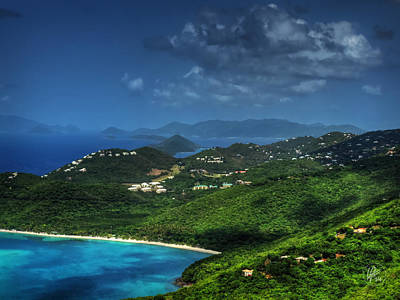 Photograph - Saint Thomas Vista 002 by Lance Vaughn