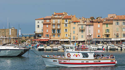 Saint-tropez, Cote Dazur, French Art Print