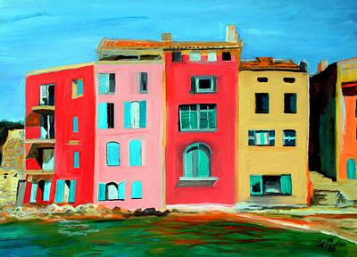 Kitchen Mark Rogan - Saint Tropez House On Beach by Gordon Powles
