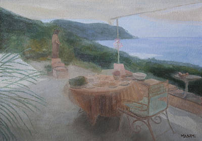 Painting - Saint-tropez by Masami Iida