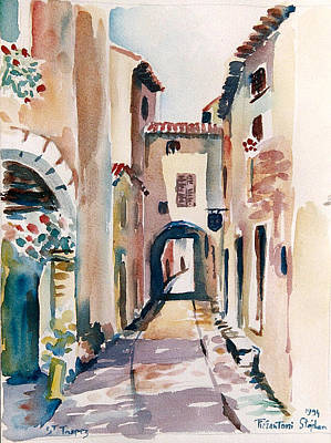 Saint Tropez Painting - Saint Tropez by Stephan Pierantoni