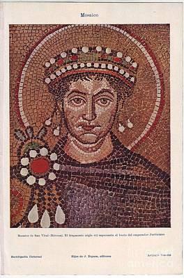 Saint Vital Of Ravena Original by Vladimir Berrio Lemm