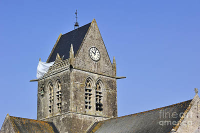 Photograph - Sainte-mere-eglise by Arterra Picture Library