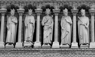 Photograph - Saints Of Notre Dame  by Carol Groenen