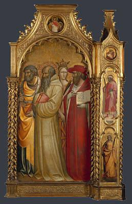 1420 Painting - Saints Peter by Raphael  Sanzio