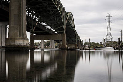 Photograph - Sakonnet River Bridge by Andrew Pacheco