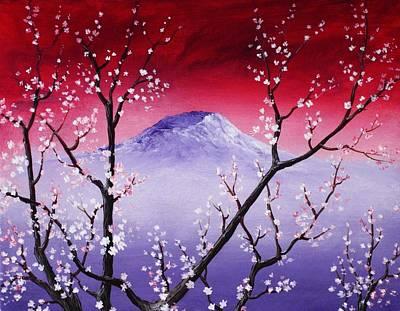 Anastasiya Painting - Sakura by Anastasiya Malakhova