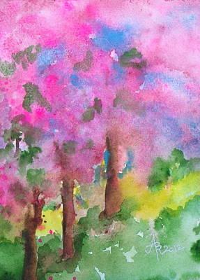 Sakura Painting - Sakura by Anna Ruzsan