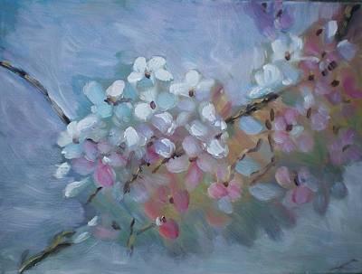 Sakura Painting - Sakura by Elena Sokolova