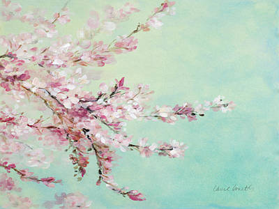 Cherry Blossoms Painting - Sakura Fragile Beauty by Lanie Loreth