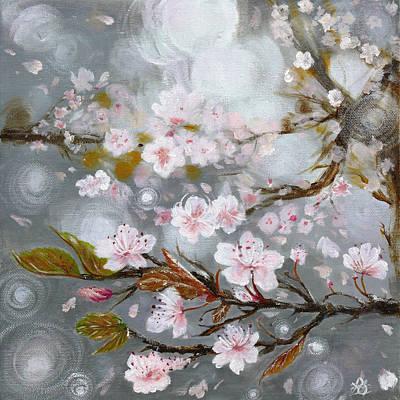 Sakura Painting - Sakura No Hana by Rae Stanton