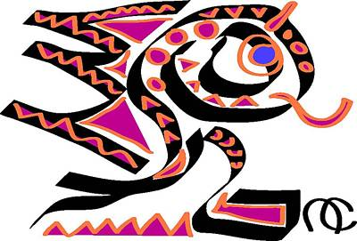 Salamanders Digital Art - Salacious Salamander by Andy Cordan