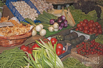 Salad Fixings Original by Ruth H Curtis