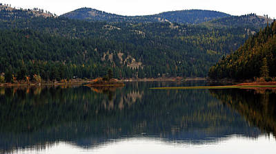 Salam  Lake Art Print by Larry Stolle