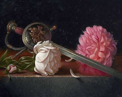 Old World Still Life Painting - Salamanca by Timothy Jones