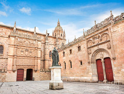 Photograph - Salamanca University by JR Photography