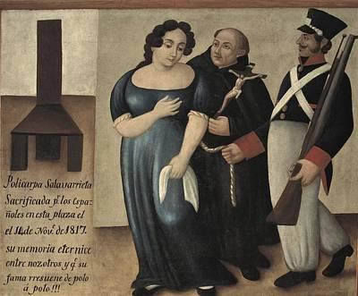 Confession Photograph - Salavarrieta, Policarpa 1795-1817 by Everett