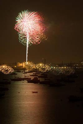 State Love Nancy Ingersoll - Salem Fireworks by Jeff Folger