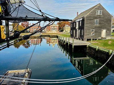 Photograph - Salem Maritime Historic Site by Jeff Folger