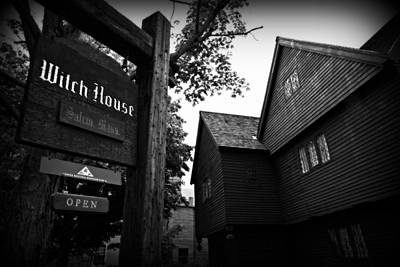 Crucibles Photograph - Salem's Witch House by Stephen Stookey